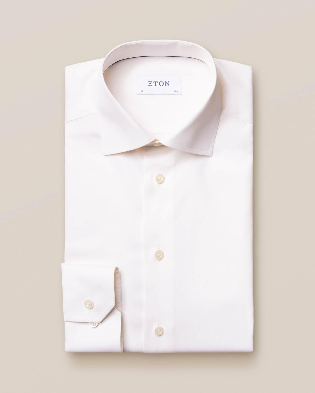 Offwhite Signature Twill-skjorta