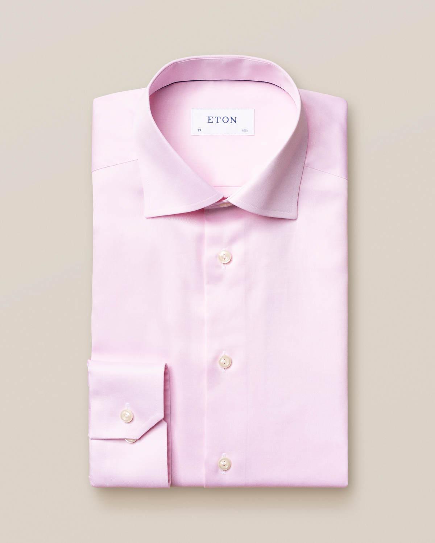 Rosa Signature Twill-skjorta