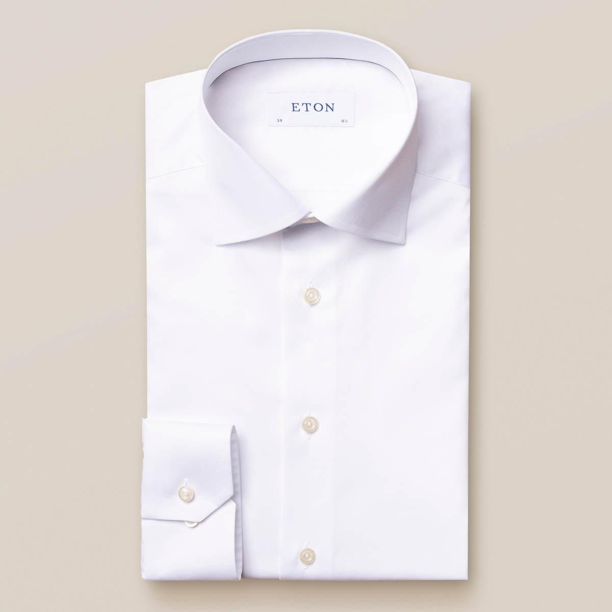 Vit skjorta i Fine Twill