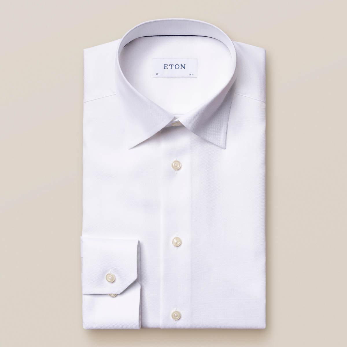 Vit Royal Oxford-skjorta