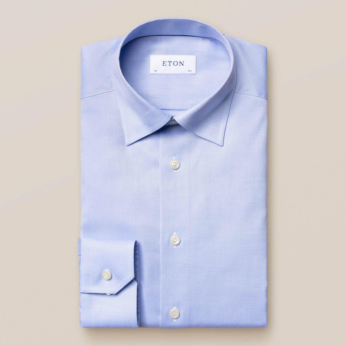 Ljusblå Royal Oxford-skjorta