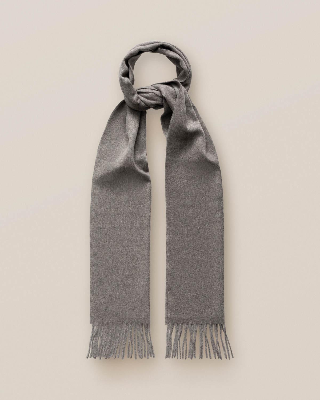Mörkgrå kashmirscarf