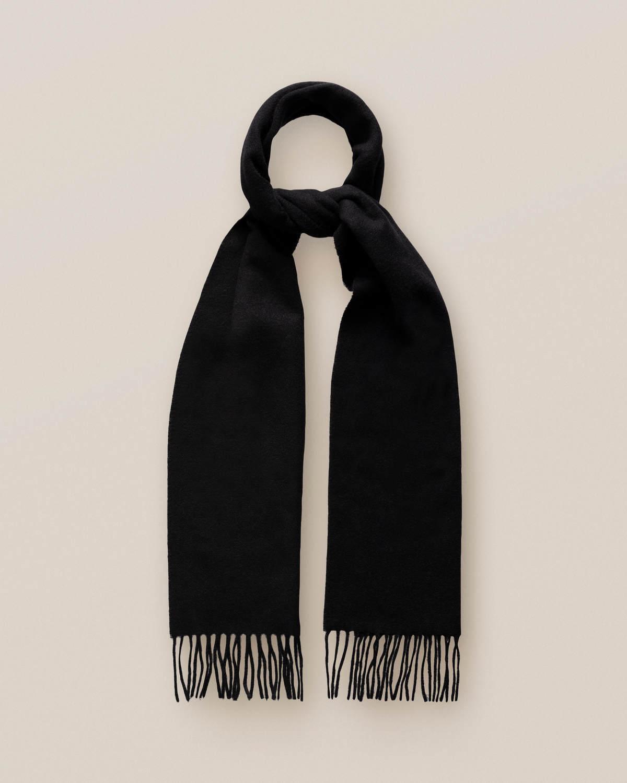 Svart kashmirscarf