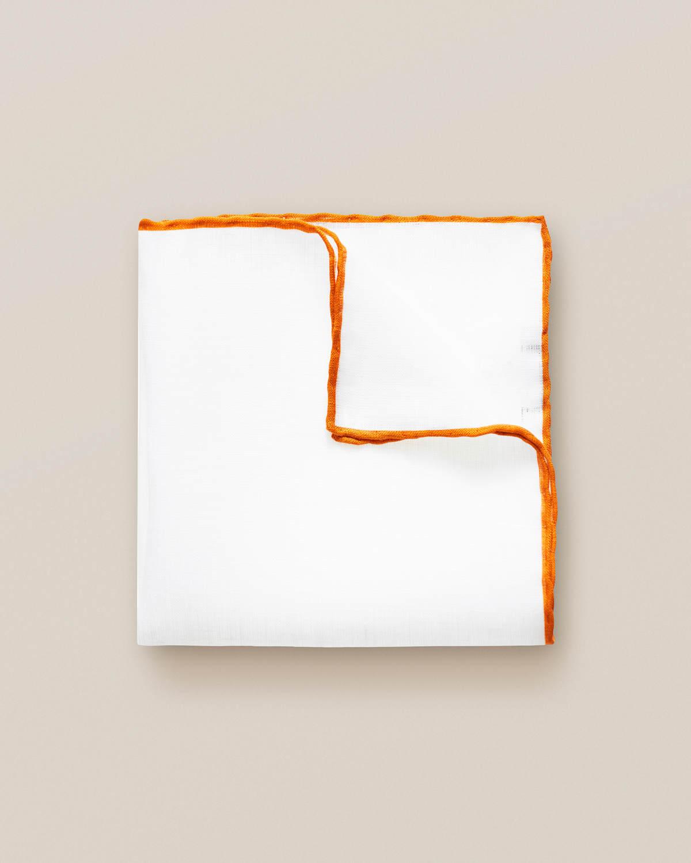 Orange linnenäsduk