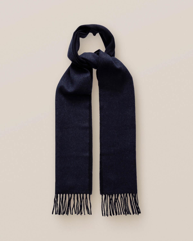 Midnattsblå ullscarf