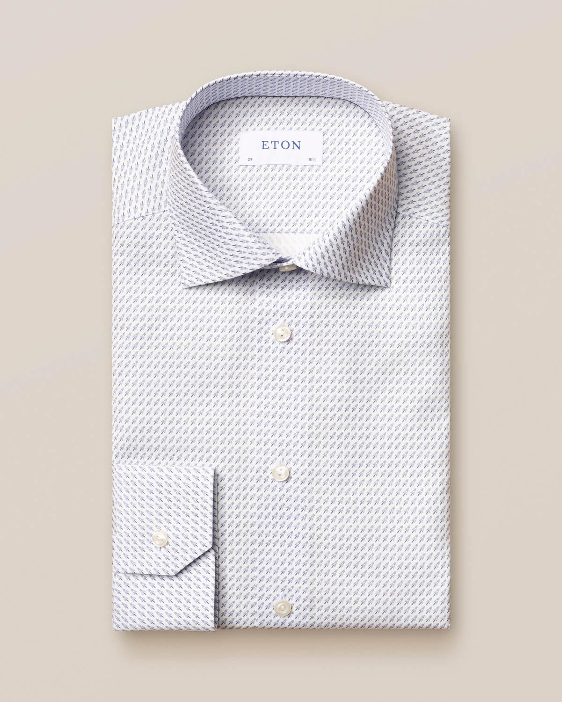 Poplinskjorta med rocket-print