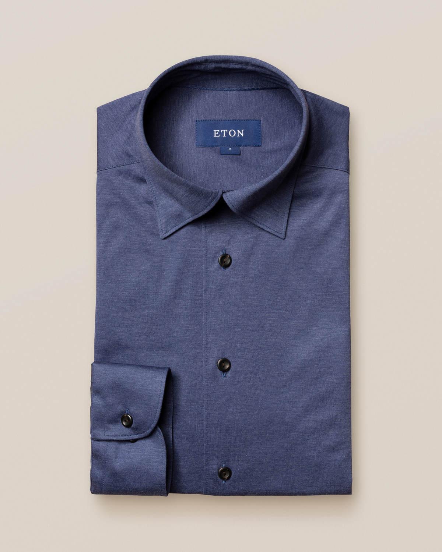 Marin jerseyskjorta