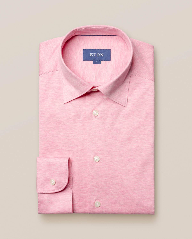 Rosa jerseyskjorta