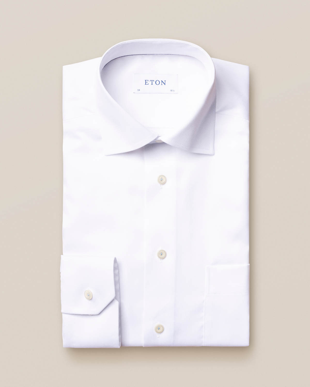Vit skjorta i Royal Twill