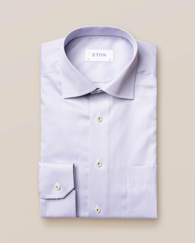 Ljusgrå skjorta i Royal Twill