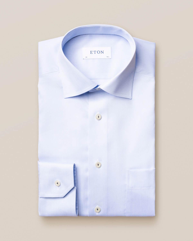 Ljusblå skjorta i Royal Twill
