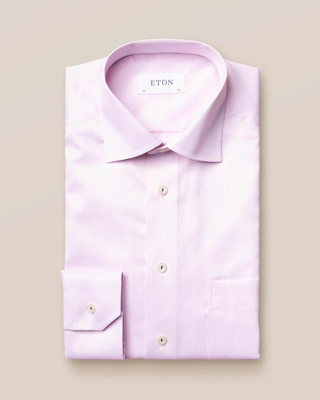Rosa skjorta i Royal Twill