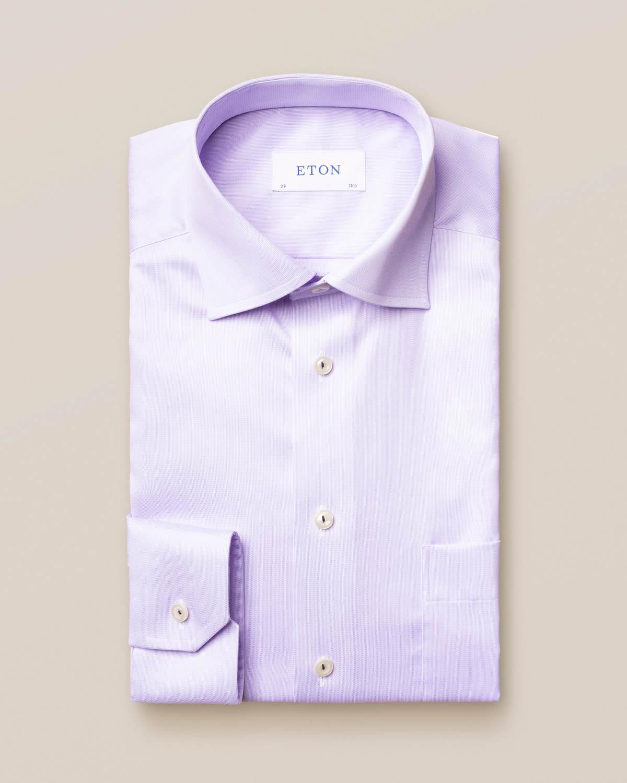 Lila skjorta i Royal Twill