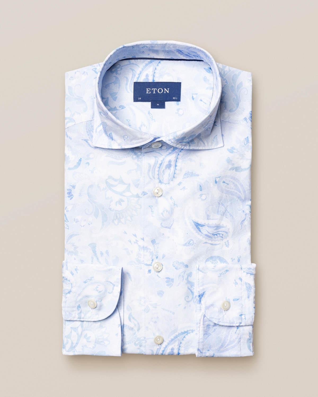 Butas-paisley skjorta – soft