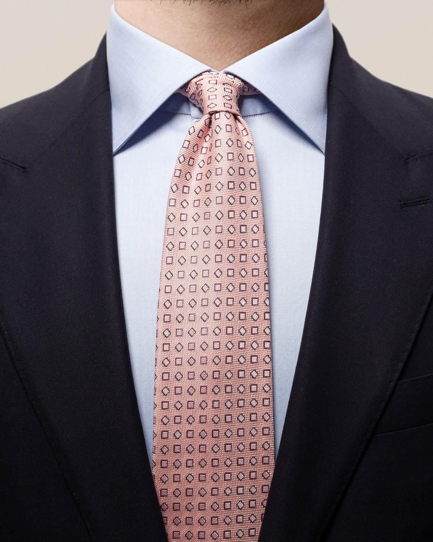 Rosa slips med kvadrater i pastell