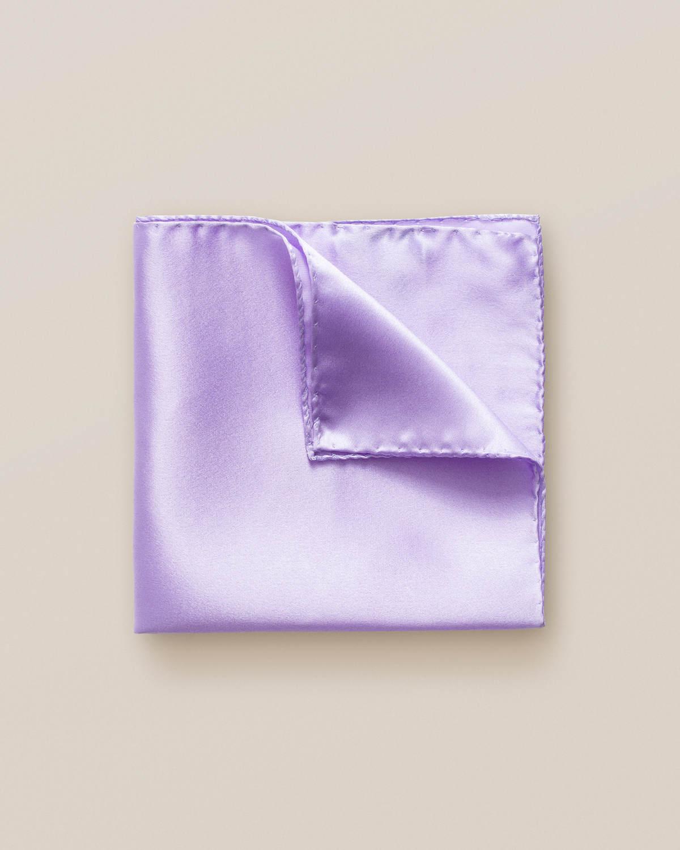 Lavendel sidennäsduk