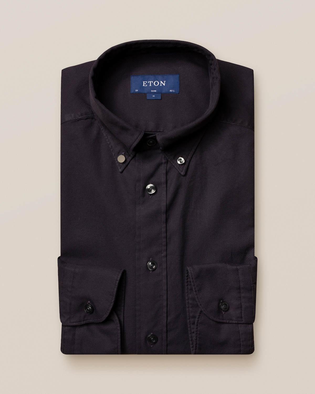 Svart oxfordskjorta - soft